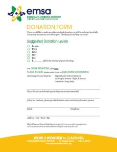 donation form image